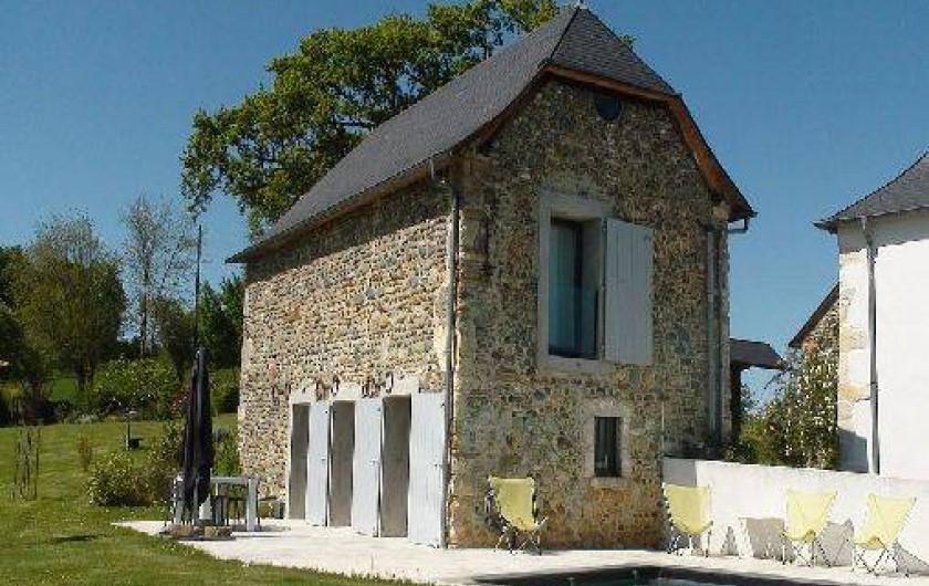 Location de vacances - Gîte à Lucq-de-Béarn - Gîte avec terrasse
