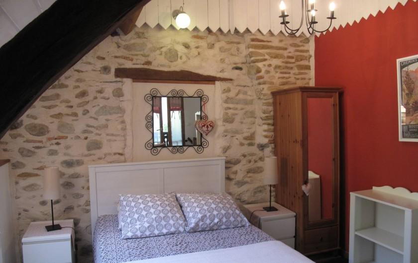 Location de vacances - Gîte à Bagnères-de-Bigorre - A l'étage - Chambre