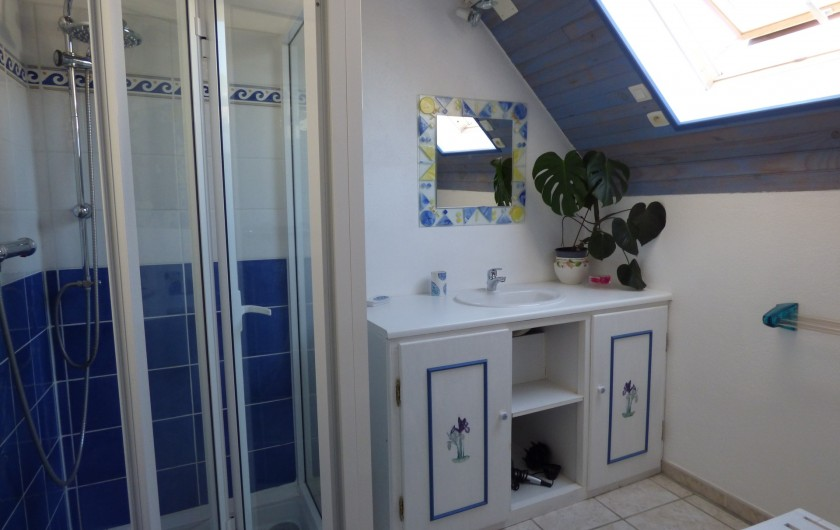Location de vacances - Gîte à Lourdes - salle de bain