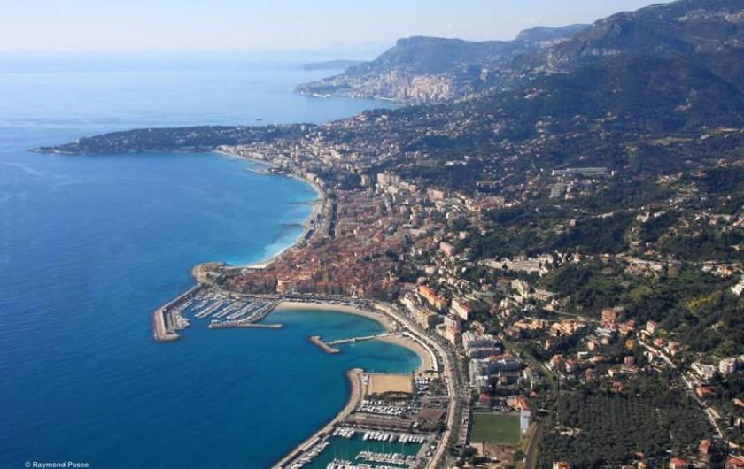 Location de vacances - Villa à Menton - Menton et la Côte d'Azur