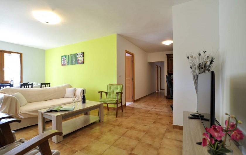 Location de vacances - Villa à Menton - Partie salon
