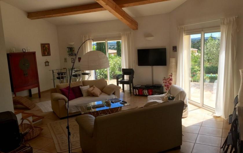 Location de vacances - Villa à Alès - Salon