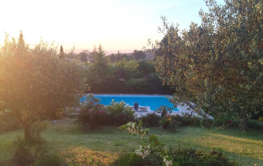 Location de vacances - Villa à Alès - Vue de la maison