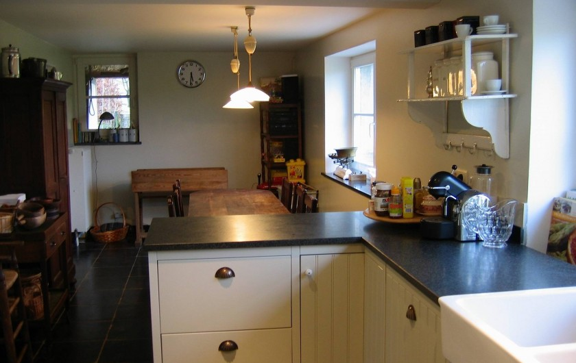 Location de vacances - Maison - Villa à Falaen - cuisine