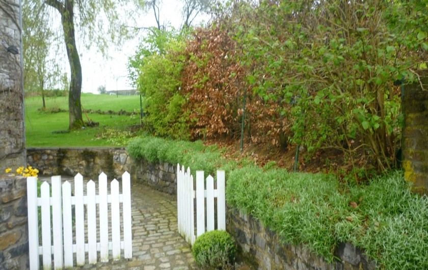 Location de vacances - Maison - Villa à Falaen - entrée