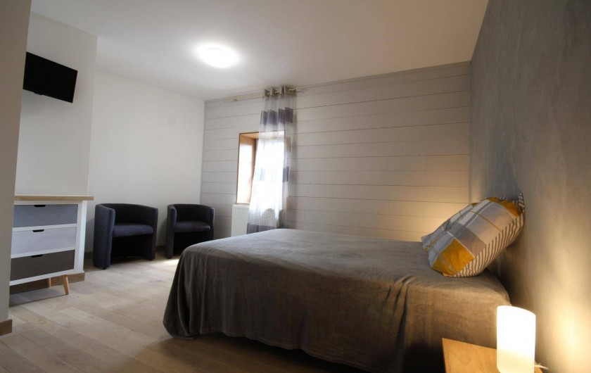 Location de vacances - Gîte à Châtillon-en-Bazois - Chambre 1