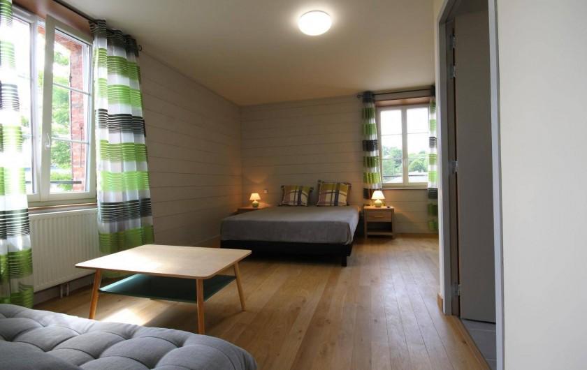 Location de vacances - Gîte à Châtillon-en-Bazois - Chambre 2 grande chambre