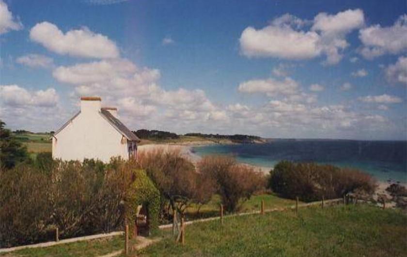 Location de vacances - Villa à Névez - La maison et son environnement en zone littorale protégée