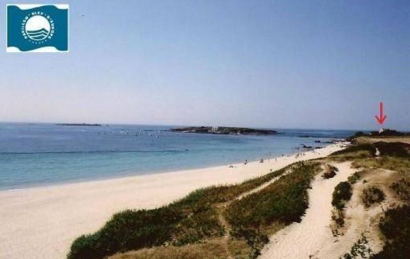 """Location de vacances - Villa à Névez - La plage de """"Tahïti"""", les îles, la maison"""