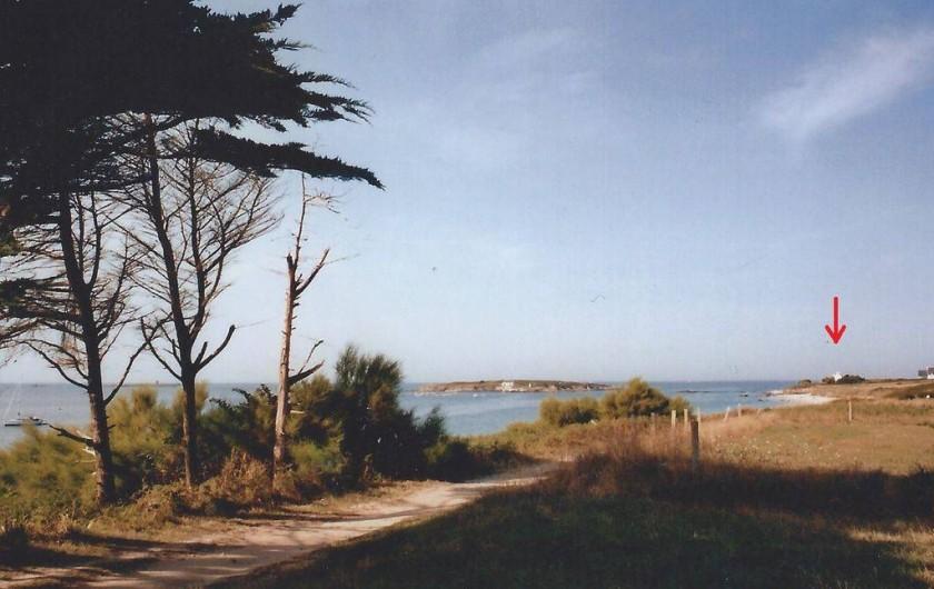 Location de vacances - Villa à Névez - Le chemin côtier / GR34