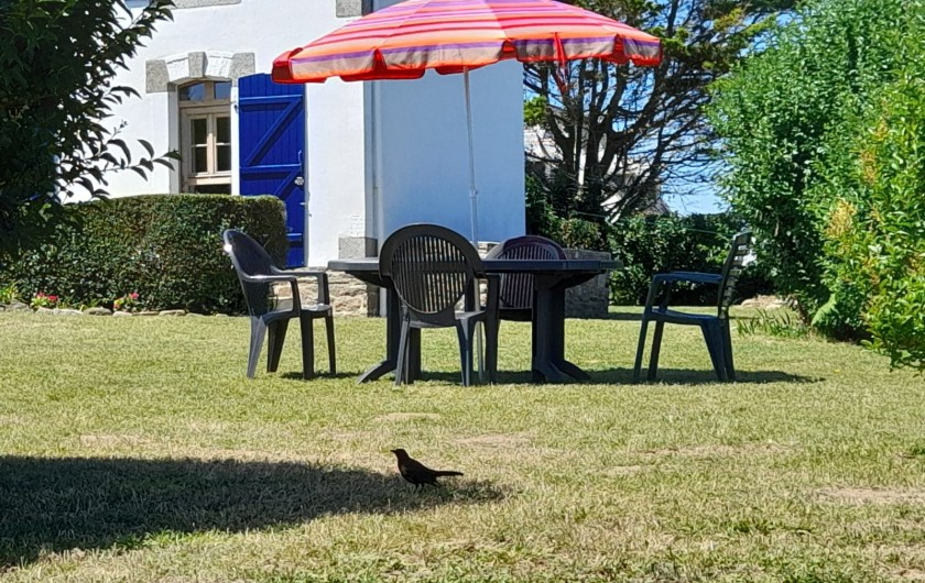 Location de vacances - Villa à Névez - Salon de jardin