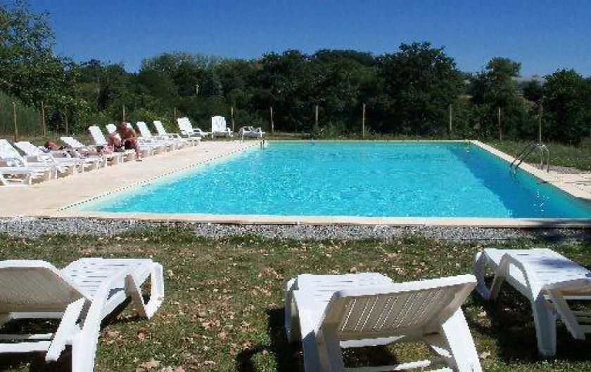 Location de vacances - Camping à La Fouillade