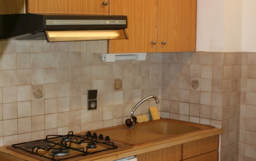 Location de vacances - Appartement à Peisey-Nancroix - Cuisine