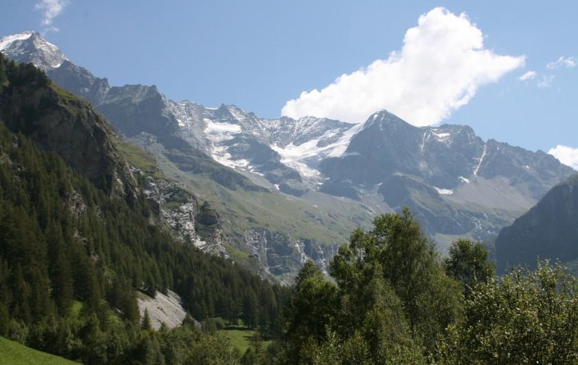 Location de vacances - Appartement à Peisey-Nancroix - Le fond de Vallée