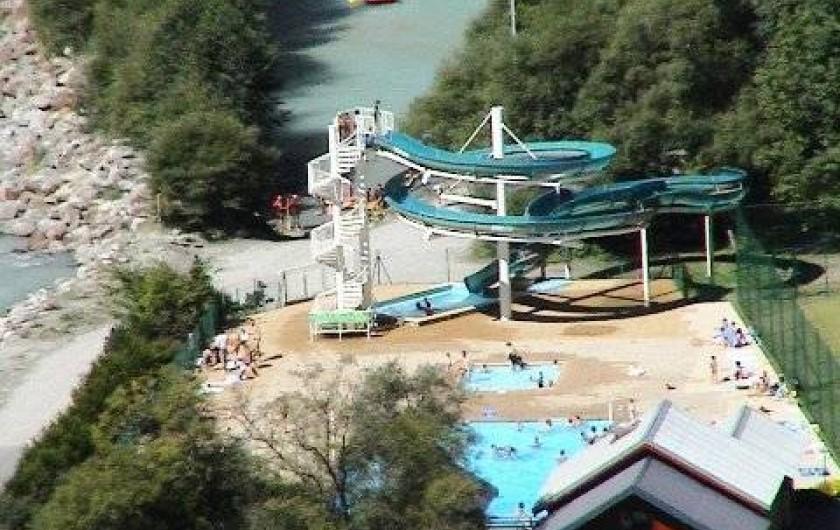 Location de vacances - Chalet à Les Deux Alpes - piscine