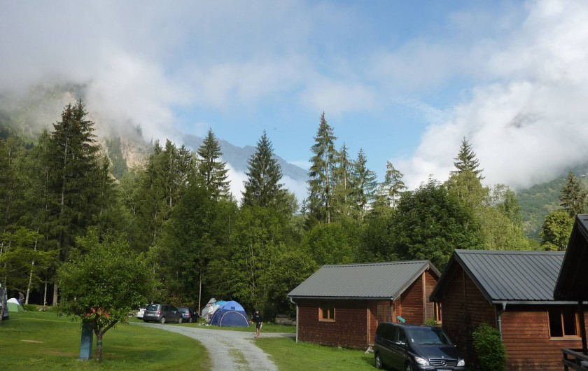 Location de vacances - Chalet à Les Deux Alpes - Les chalets de La Cascade