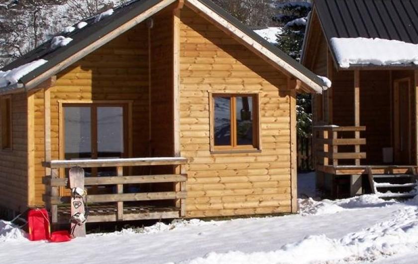 Location de vacances - Chalet à Les Deux Alpes - Les chalets de La Cascade en hiver