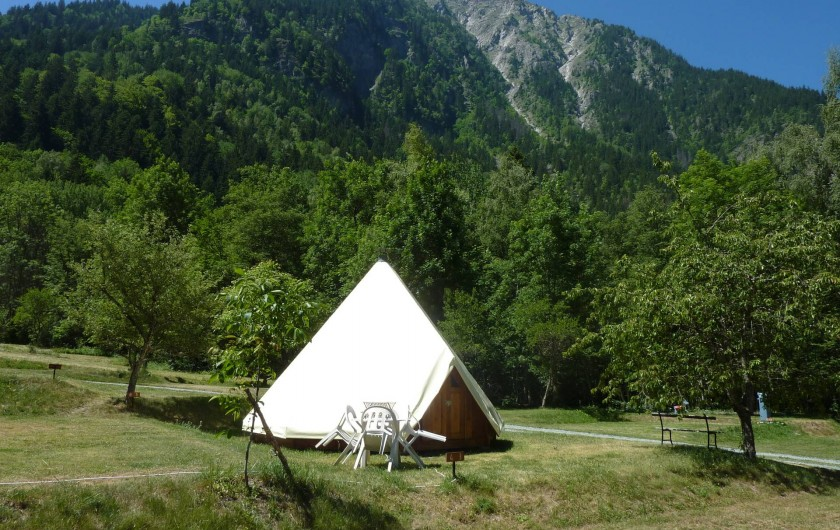 Location de vacances - Chalet à Les Deux Alpes - Les Tipibois de La Cascade