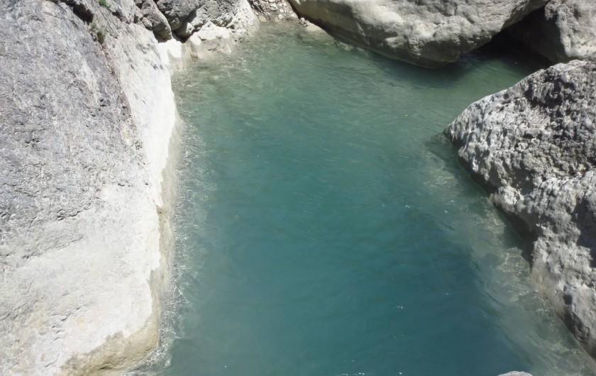 Location de vacances - Villa à Nyons - randonnée aquatique