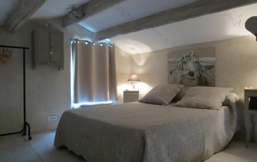 Location de vacances - Villa à Nyons - coté chambre Mezzanine