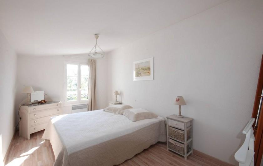 Location de vacances - Maison - Villa à Saint-Martin-de-Ré - La chambre lit double 160/200 cm