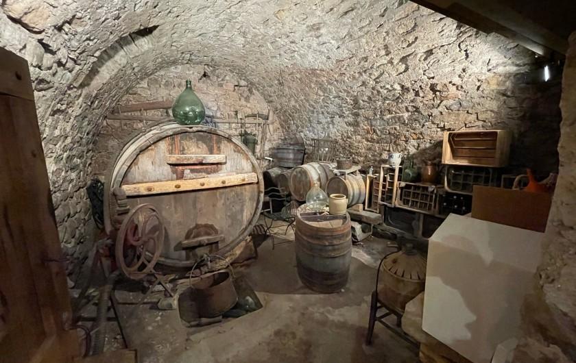 Location de vacances - Gîte à La Cresse - La cave