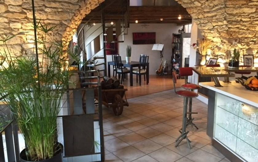 Location de vacances - Gîte à La Cresse - La pièce à vivre