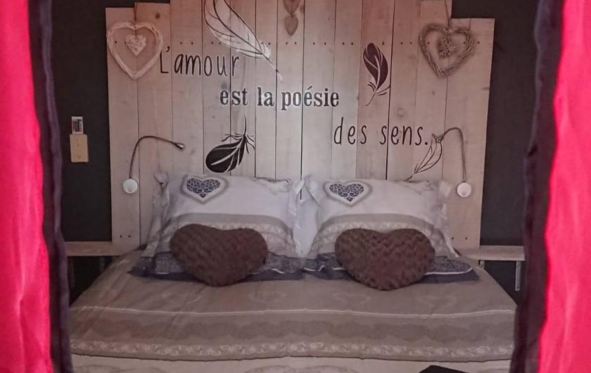 Location de vacances - Gîte à Puivert - Chambre (Piccolove)