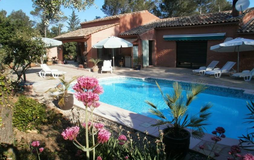 Location de vacances - Chambre d'hôtes à Carcès - La piscine