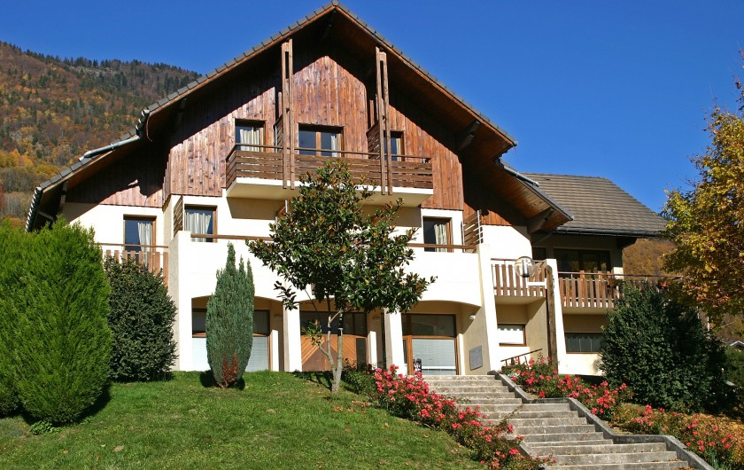 Location de vacances - Chalet à Saint-Georges-d'Hurtières - Gîte de Rochebrune
