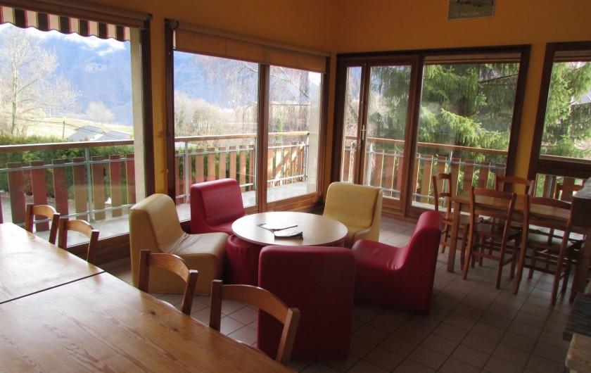 Location de vacances - Chalet à Saint-Georges-d'Hurtières - Salon