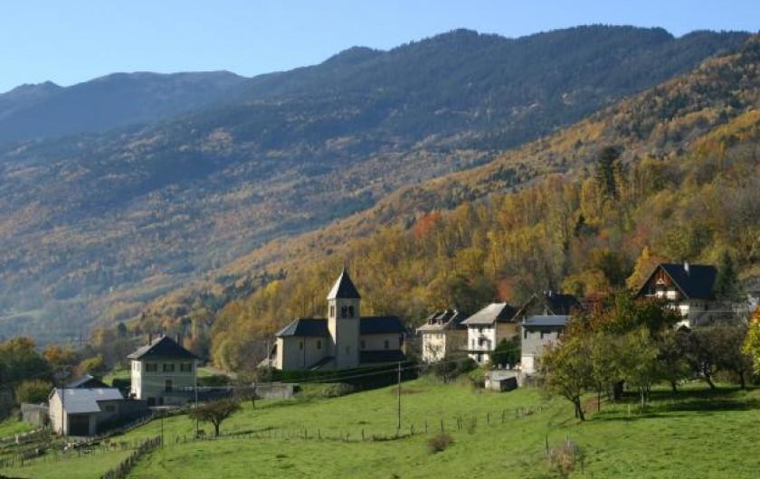 Location de vacances - Chalet à Saint-Georges-d'Hurtières - Le village