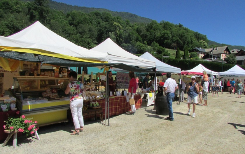 Location de vacances - Chalet à Saint-Georges-d'Hurtières - Fête au village
