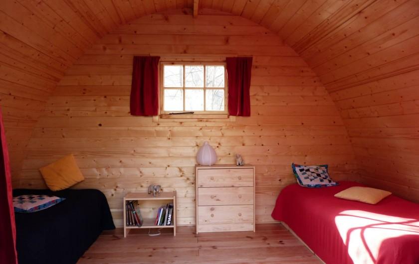 Location de vacances - Gîte à Mollans-sur-Ouvèze - Chambre 2 Bungalow