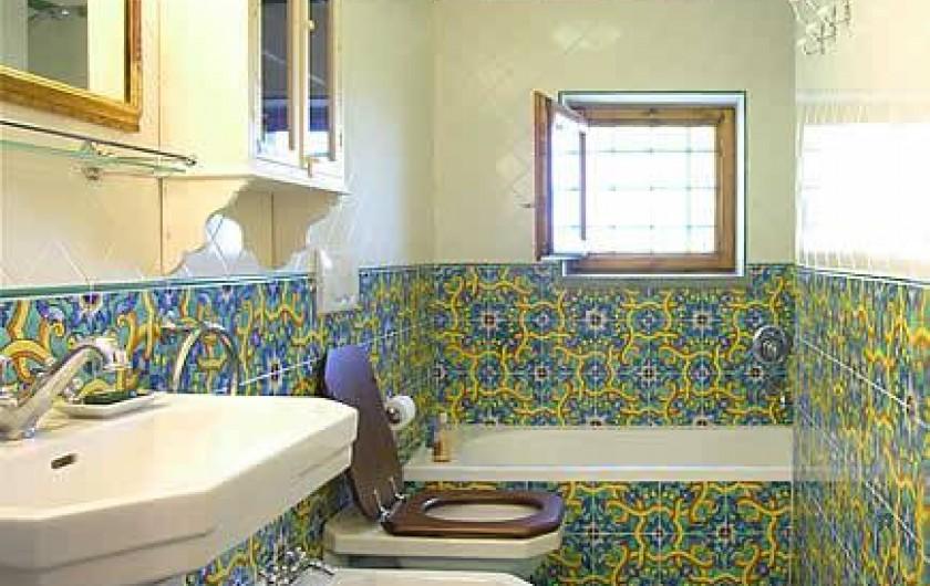 Location de vacances - Villa à La Spezia - Sale de bain