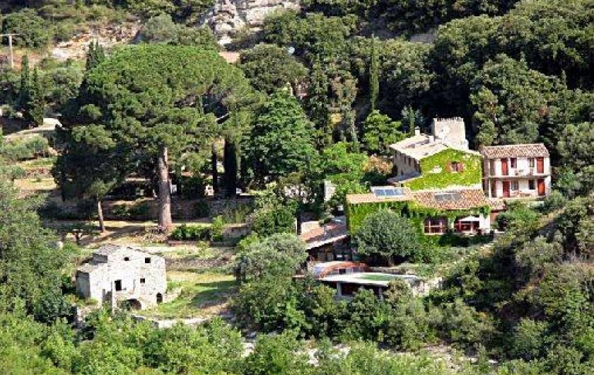 Location de vacances - Gîte à Vieussan - le grand gîte en pleine nature, Parc naturel du haut Languedoc