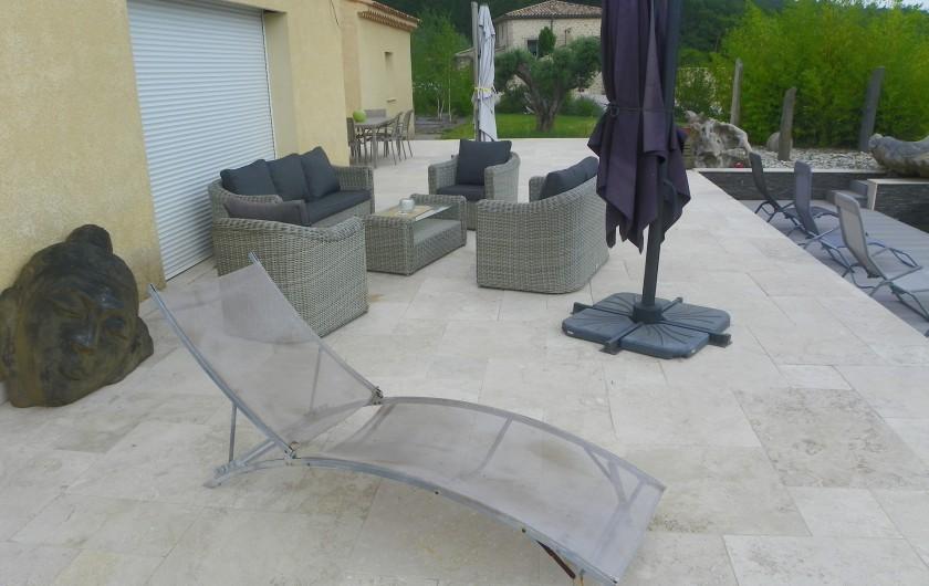 Location de vacances - Villa à Entrepierres