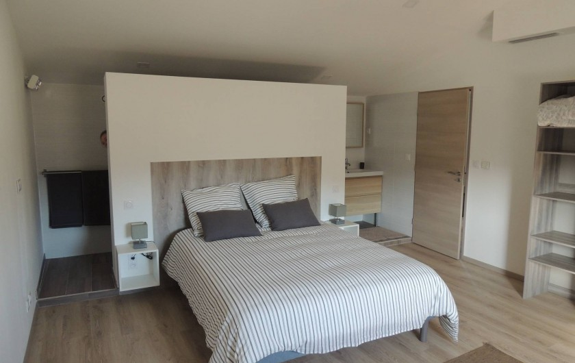 Location de vacances - Mas à Barbentane - 3 chambres avec lits doubles, 2 chambres avec 4 lits simples jumelables