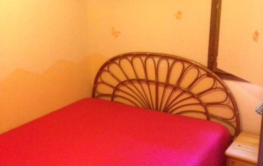 Location de vacances - Appartement à Le Cap d'Agde - chambre