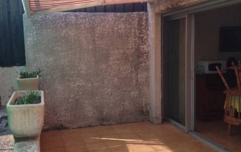 Location de vacances - Appartement à Le Cap d'Agde - terrasse