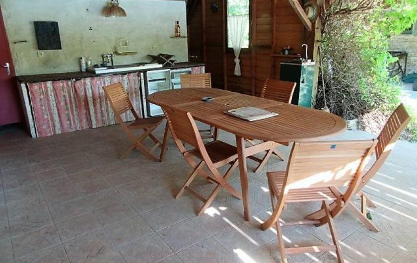 Location de vacances - Villa à Salviac - Maison d'été ;35m2