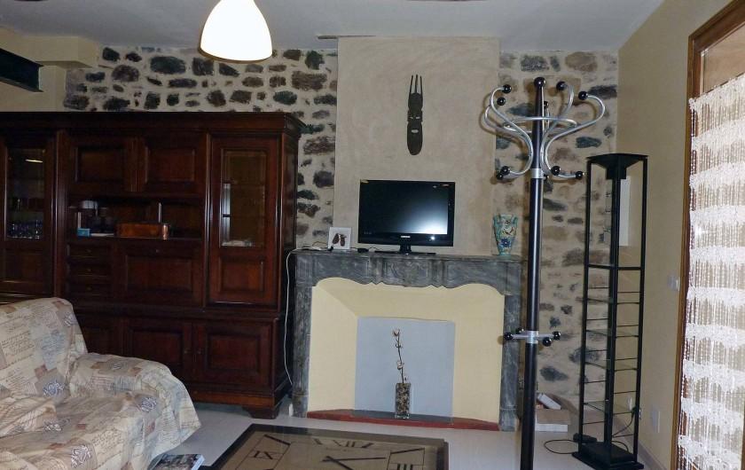 Location de vacances - Appartement à Fontès - Salon