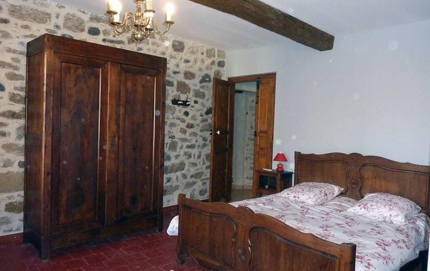 Location de vacances - Appartement à Fontès - Chambre 1