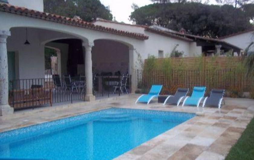 Location de vacances - Villa à Le Tignet - Piscine