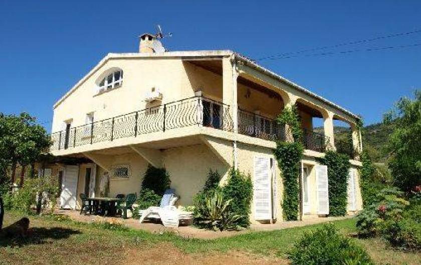 Location de vacances - Appartement à Cargèse - Villa
