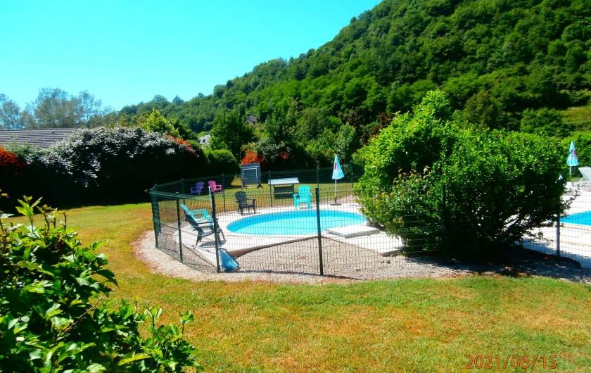 Location de vacances - Chalet à Saint-Geniez-d'Olt - Pataugeoire