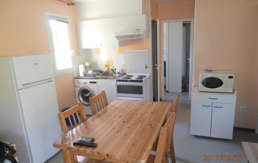 Location de vacances - Chalet à Saint-Geniez-d'Olt - Coin cuisine