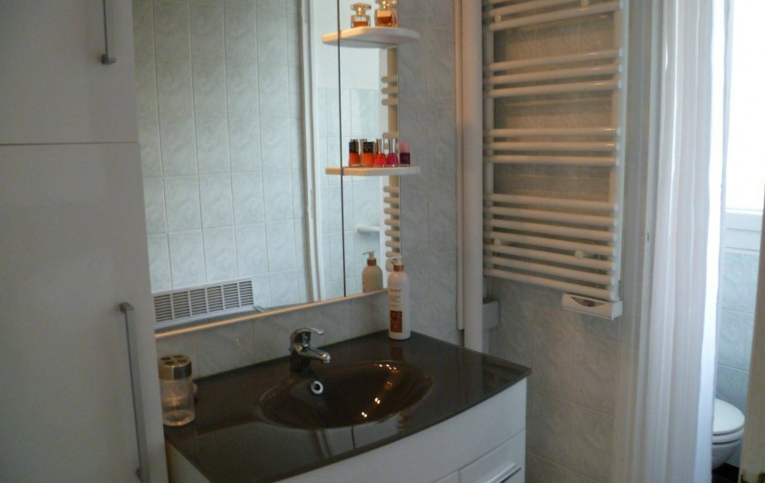 Location de vacances - Appartement à Cavalaire-sur-Mer - Salle d'eau