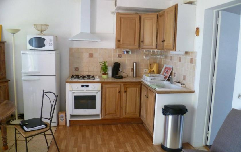 Location de vacances - Appartement à Cavalaire-sur-Mer - Cuisine