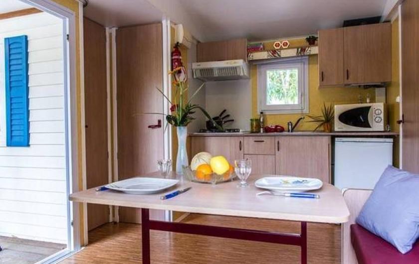 Location de vacances - Bungalow - Mobilhome à Blanes - Mobile-home 2 à 6 personnes